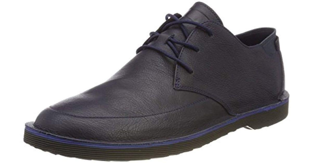 Morrys, Zapatos de cordones Oxford para Hombre, Azul (Dark Blue 001), 46 EU Camper de hombre