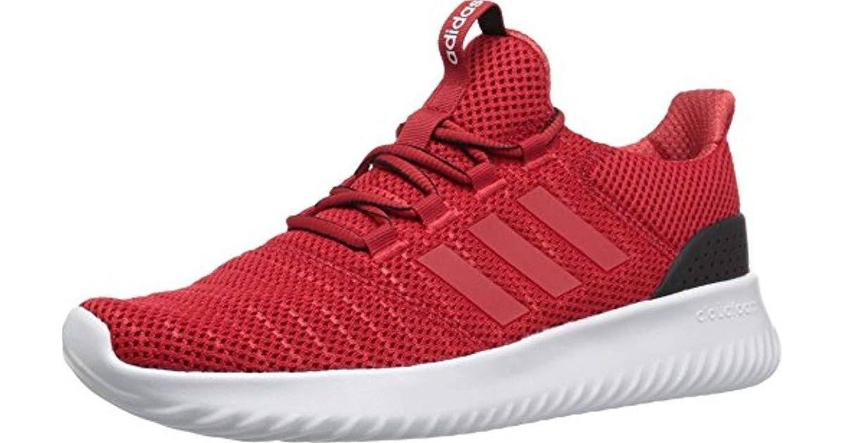Adidas Red Cloudfoam Ultimate for men