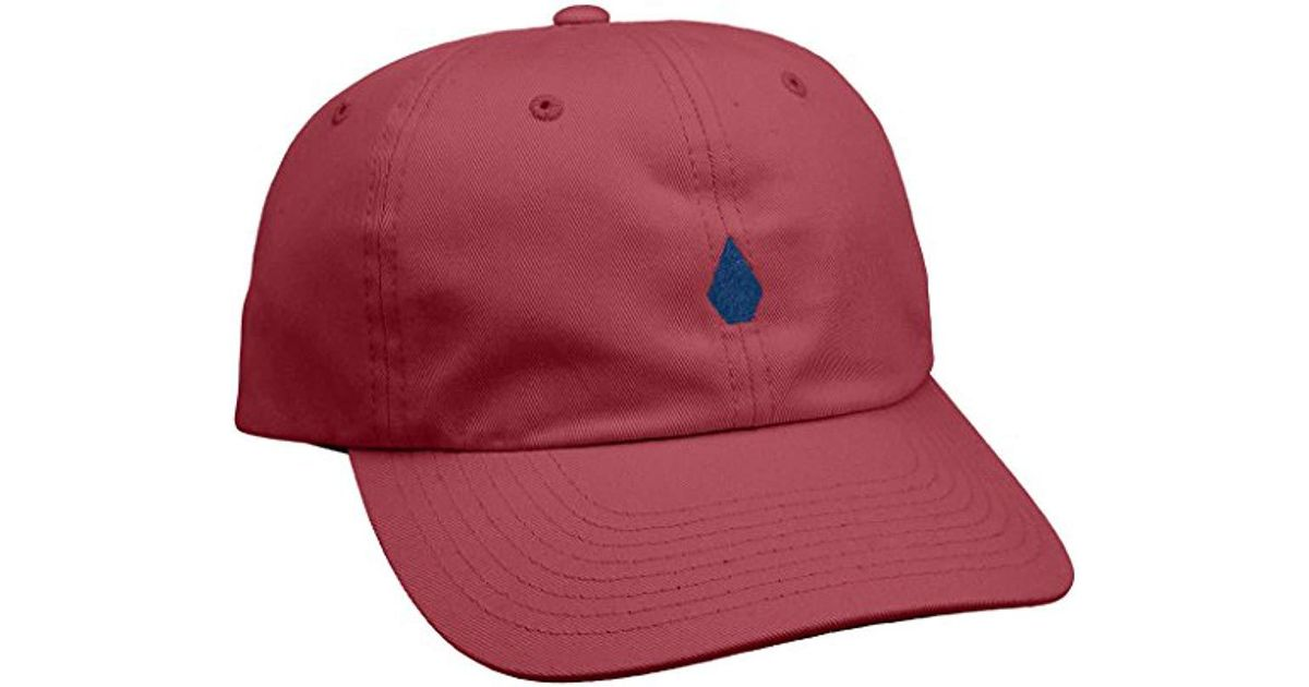 usa cheap sale buying now the best attitude Volcom Geezer Cap Hat in Red for Men - Lyst