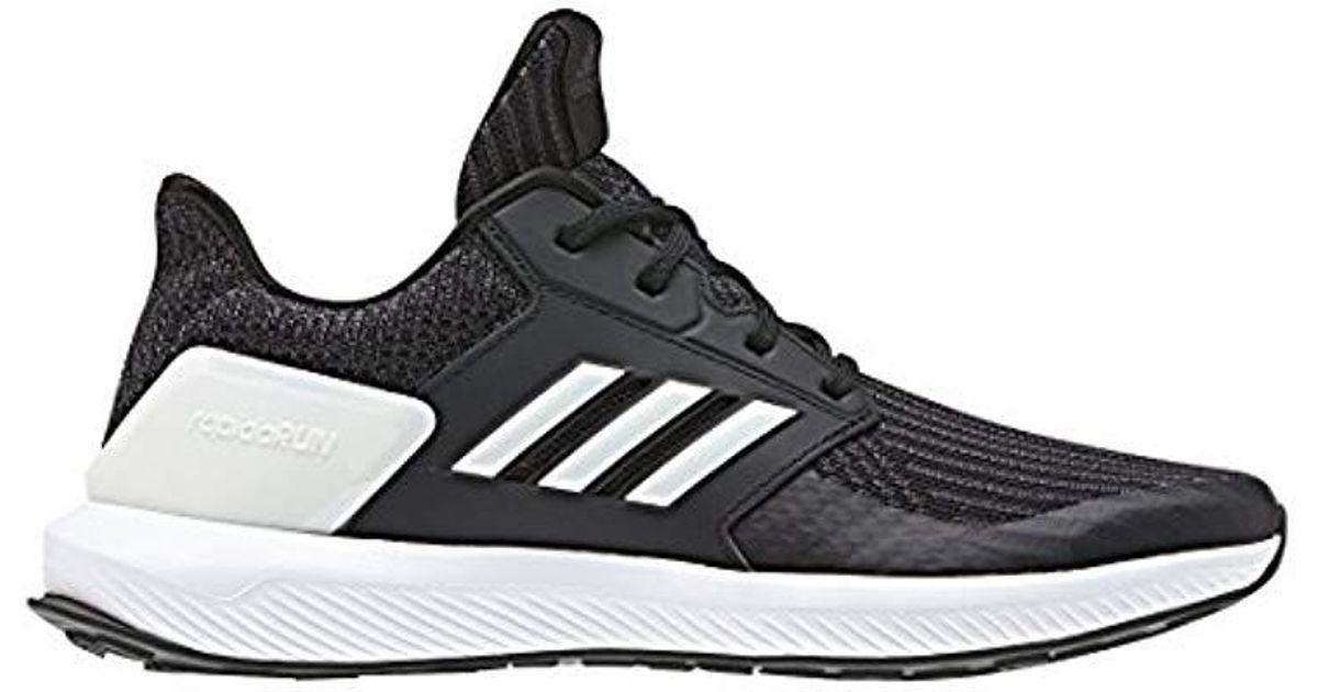 904edbf34 adidas Unisex Adults  Rapidarun Knit J Fitness Shoes in Black - Lyst