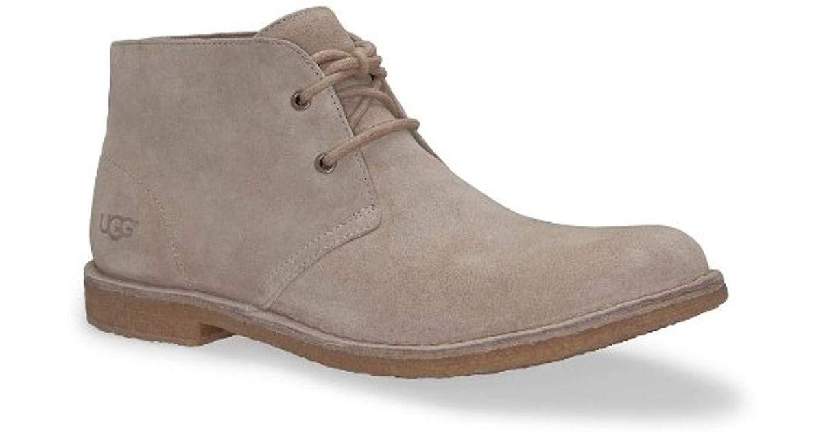 2ec96cf8b28 Ugg Gray Leighton Chukka Boot for men
