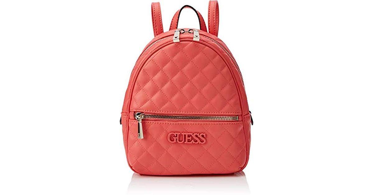 En Guess Elliana BackpackSacs À Dos Coloris Pink l1JTFc3K