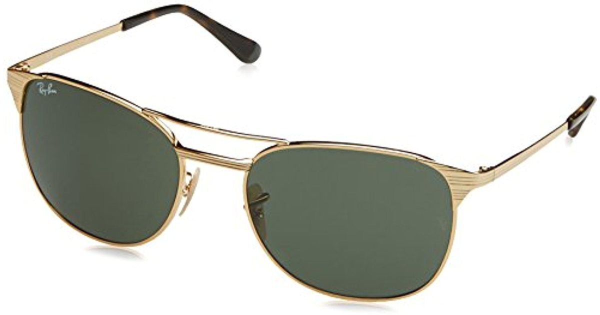 d9b4b4f19d Lyst - Ray-Ban S Signet Sunglasses (rb3429) Metal in Metallic for Men -  Save 22%