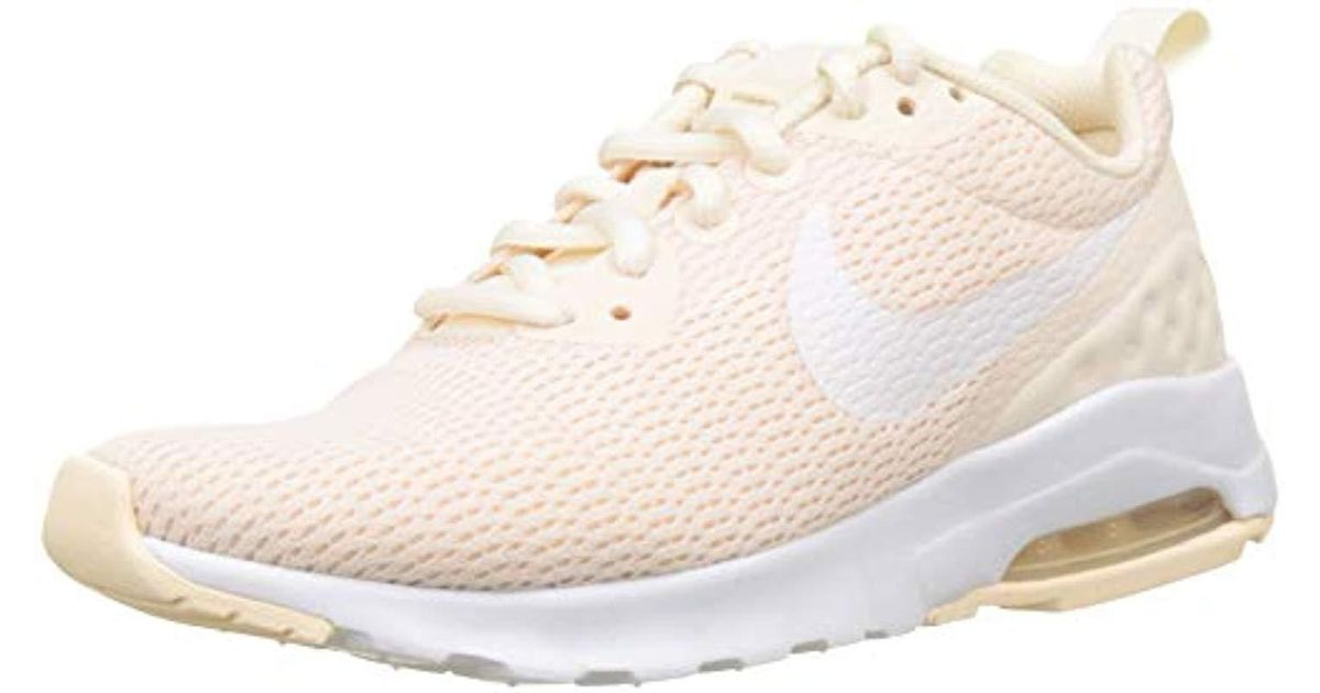 Nike ''s Wmns Air Max Motion Lw Competition Running Shoes, Multicolour (guava Icewhite 801), 3 Uk