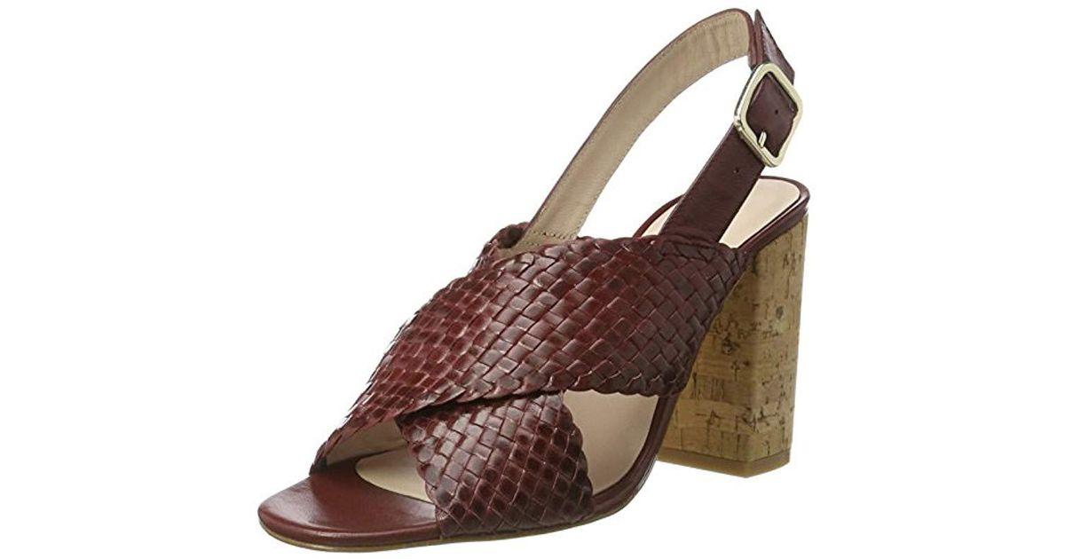 3dcb0c1f82fb L.K.Bennett  s Mel Wedge Heels Sandals - Lyst
