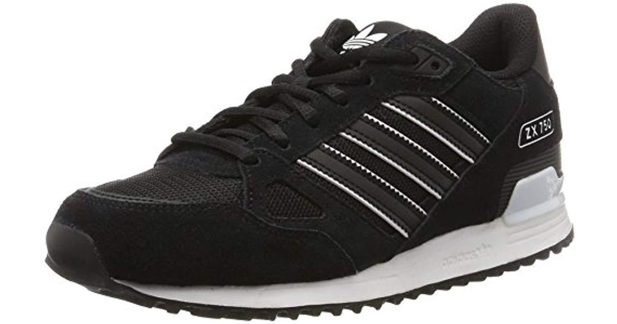 half off db7b5 9e84a Adidas - Black 's Zx 750 Fitness Shoes for Men - Lyst