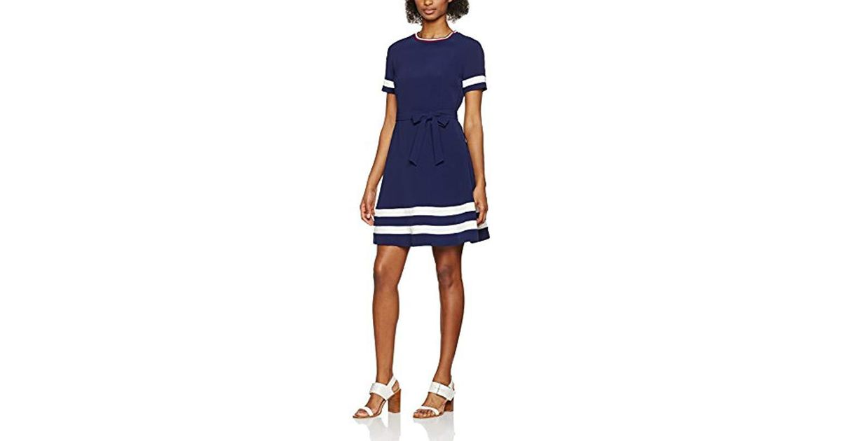 eca01d132d538 tommy-hilfiger-Blue-Peacoat-443-Jillian-Ss-Dress.jpeg