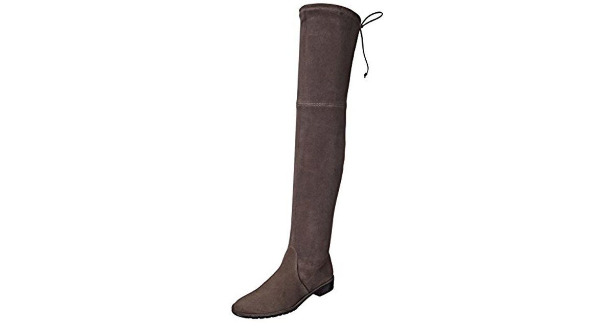 35e9ed74f Lyst - Stuart Weitzman Lowland Over-the-knee Boot - Save 27%