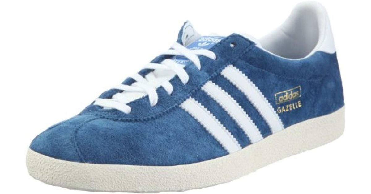 Adidas Blue Originals Unisex Adults' Gazelle Og Low top Sneakers for men