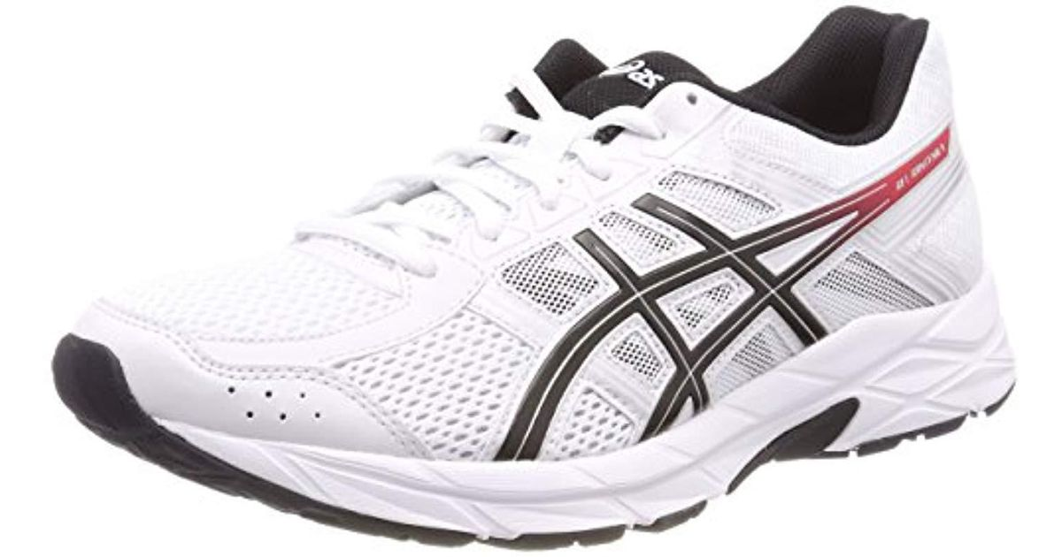 c7822a598aefa Asics White Gel-contend 4 Running Shoes for men