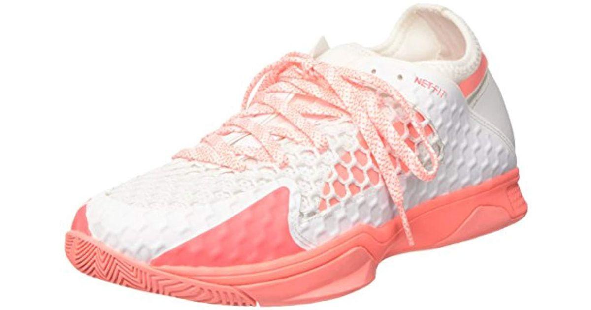 Puma Indoor 3 Evospeed Shoes White Netfit Fitness 's FlJTK31c