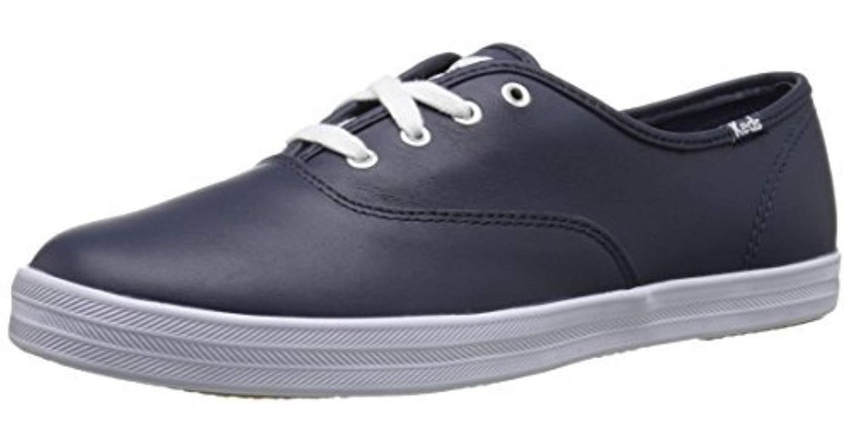 4b549ae5016ac Keds - Blue Champion Original Leather Sneaker - Lyst