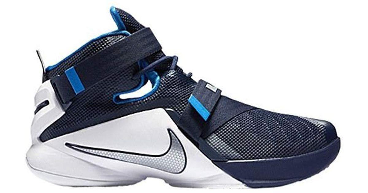 ec6dbcb220c31 Nike Blue Lebron Soldier Ix, 's Sports Shoes for men