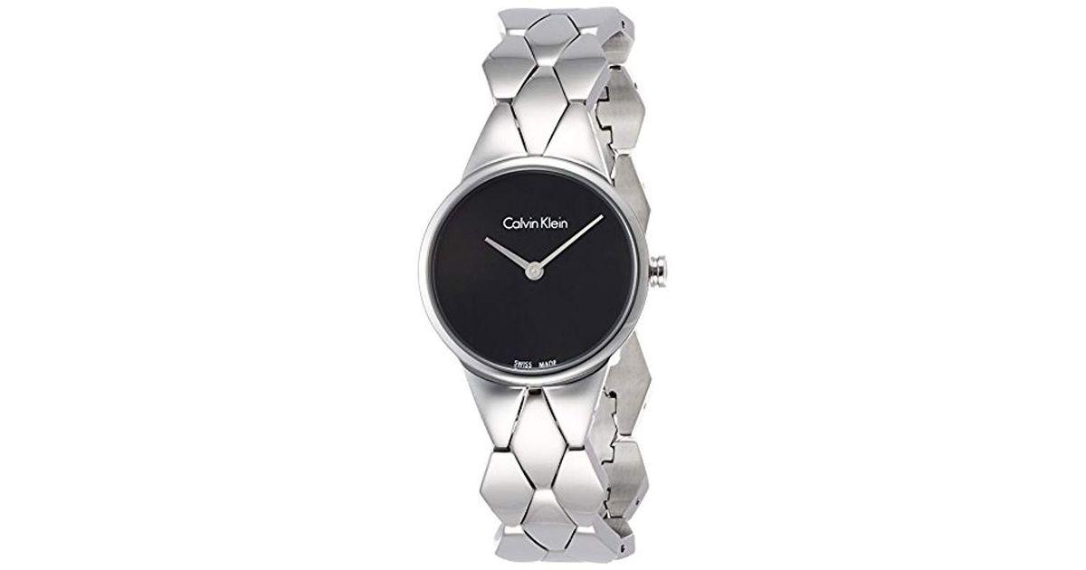 Reloj Analogico para Mujer de Cuarzo con Correa en Acero Inoxidable K6E23141 Calvin Klein de color Multicolor