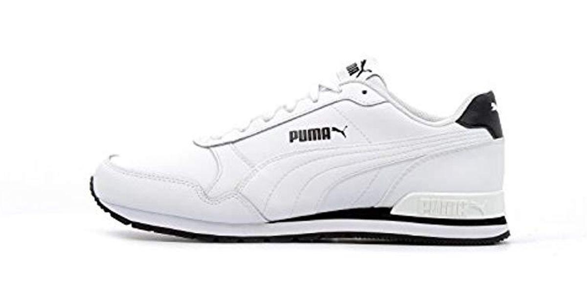 best website e7fb3 b7d2f PUMA Unisex Adults  St Runner V2 Full L Low-top Sneakers in White for Men -  Lyst