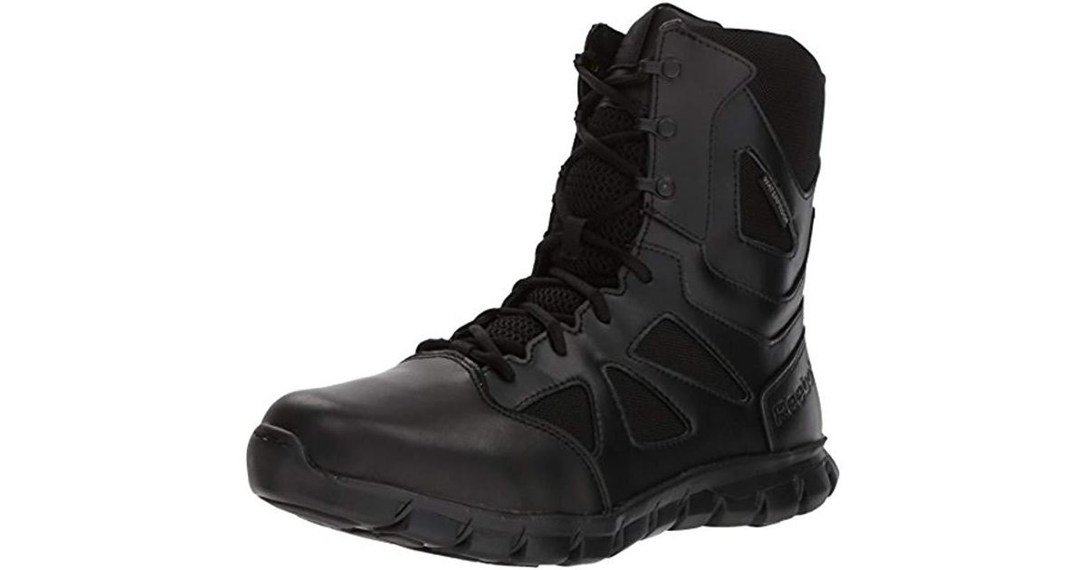 b86ab19e842 Reebok Black Sublite Cushion Tactical Rb8806 Military & Tactical Boot for  men