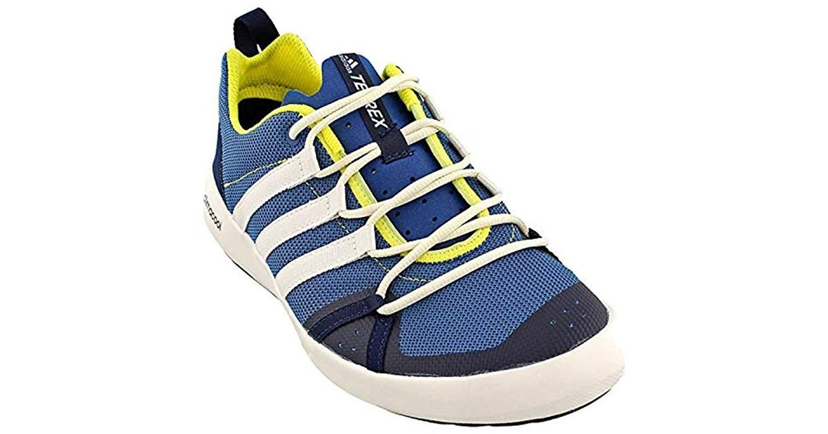 Adidas Blue Outdoor Terrex Climacool Boat Water Shoe for men