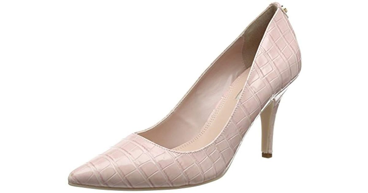 7bbdf1ad77 Dune Aeryn Closed Toe Heels in Pink - Lyst