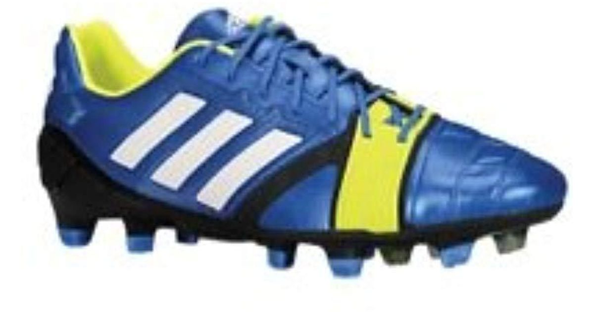 amazing selection autumn shoes get new adidas Nitrocharge 1.0 Trx Fg in Blue for Men - Lyst