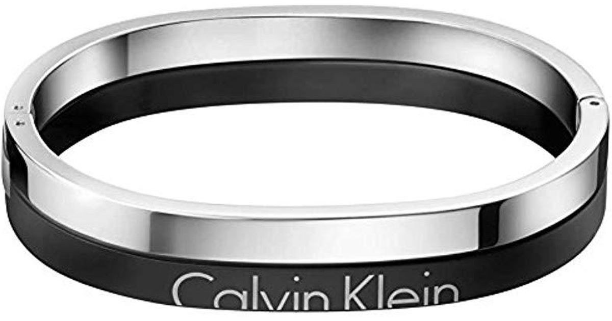 151799a35215 Brazalete Hombre acero inoxidable Calvin Klein de hombre de color Metálico  - Lyst