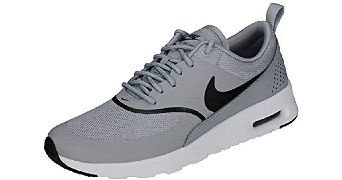 6fc52994a1072d Nike   s Air Max Thea Low-top Sneakers in Gray - Lyst
