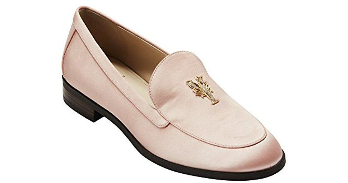 f274c7cf90e Lyst - Cole Haan Pinch Lobster Loafer Flat