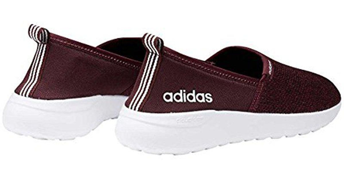 e57a4ce00b36 Lyst - adidas Neo Lite Racer Slip On W Casual Sneaker in Red