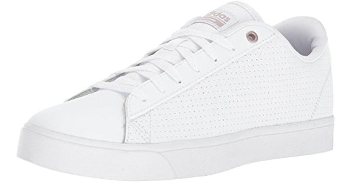 adidas Leather Cf Daily Qt Cl W, White