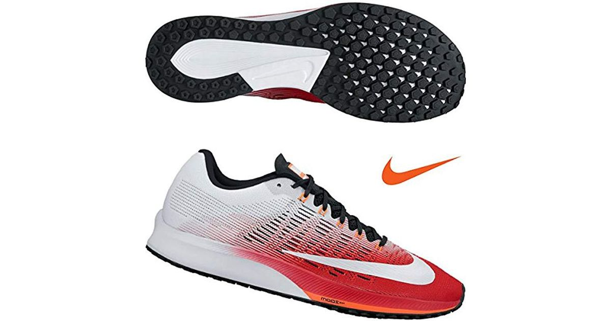 new style 98c48 93b94 Nike - Red Air Zoom Elite 9 Running Shoes - Lyst