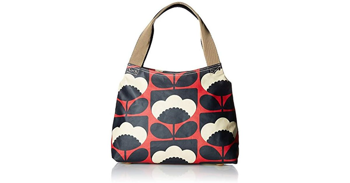 Lyst - Orla Kiely Poppy Spring Bloom Classic Zip Shoulder Bag db0ce4729dfb4