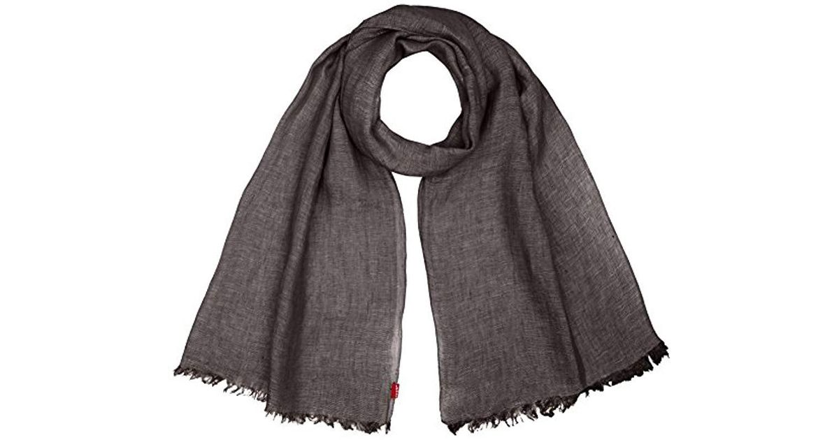 Levi s New Romaine Oblong Shawl in Gray for Men - Lyst 7fa595a1eb7f9