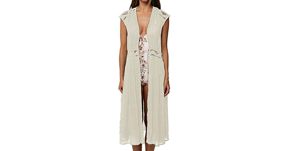 d8925aa2c54 O'neill Sportswear Lillian Maxi Cover Up - Lyst