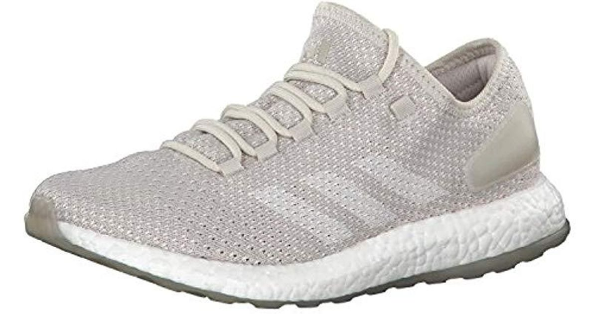 552234c66e8 adidas Pureboost Clima Competition Running Shoes in Gray for Men - Lyst