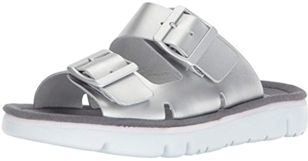 Camper Oruga K200633 002 Zapatos planos mujer Gris Mujer