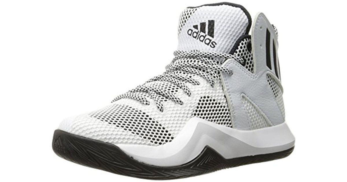 official photos e1788 2d1c5 Lyst - adidas Performance Crazy Bounce Basketball Shoe in White for Men