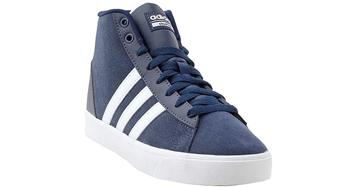 finest selection 3ad87 91583 Lyst - adidas Cf Daily Qt Mid W Sneaker, Black white super Pink, 7.5 Medium  Us in Blue - Save 27%