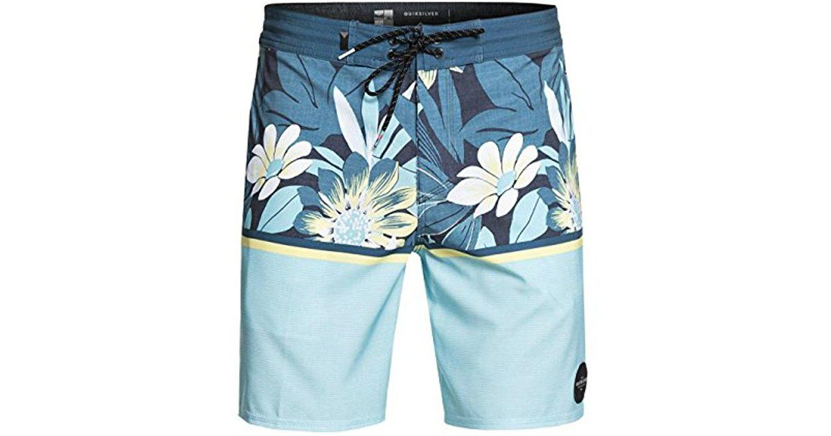 574a449fa3 Quiksilver Country Vibes Beachshort 18 Swim Trunk in Blue for Men - Save 2%  - Lyst