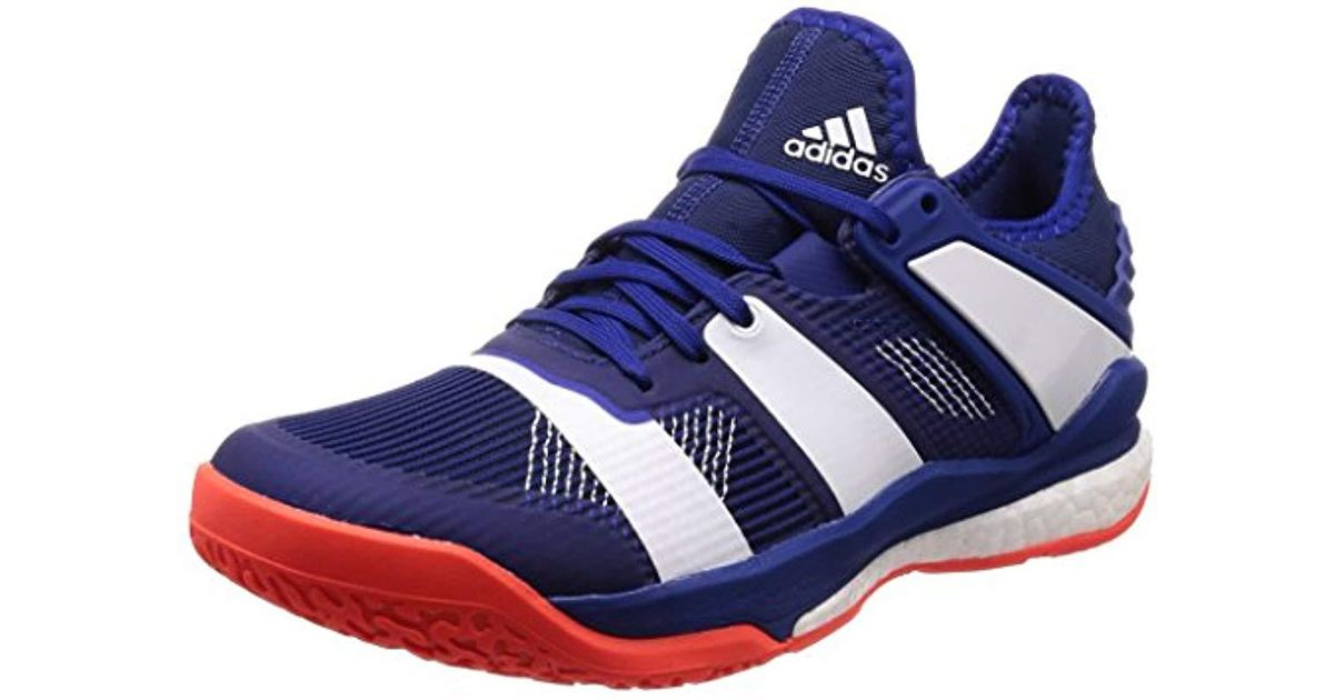 the latest c89aa 72ebd adidas  s Stabil X Handball Shoes in Blue for Men - Lyst