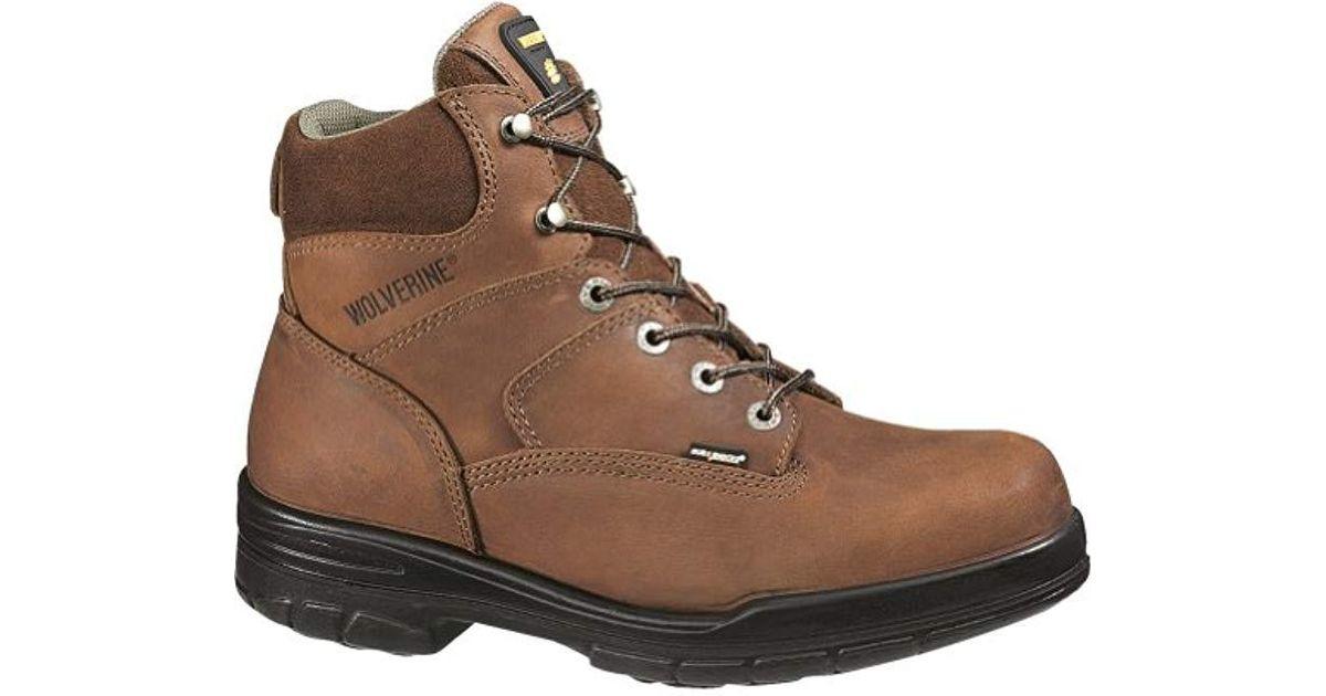 74c01ed70978 Lyst - Wolverine Durashocks Slip Resistant Steel-toe 6