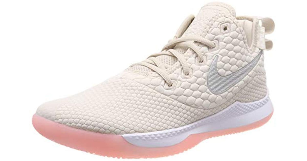 db146f585881c Nike Natural Lebron Witness Iii Basketball Shoes, Beige (lt Orewood  Brn/white/desert Sand/med Soft Pink 100), 6 Uk for men