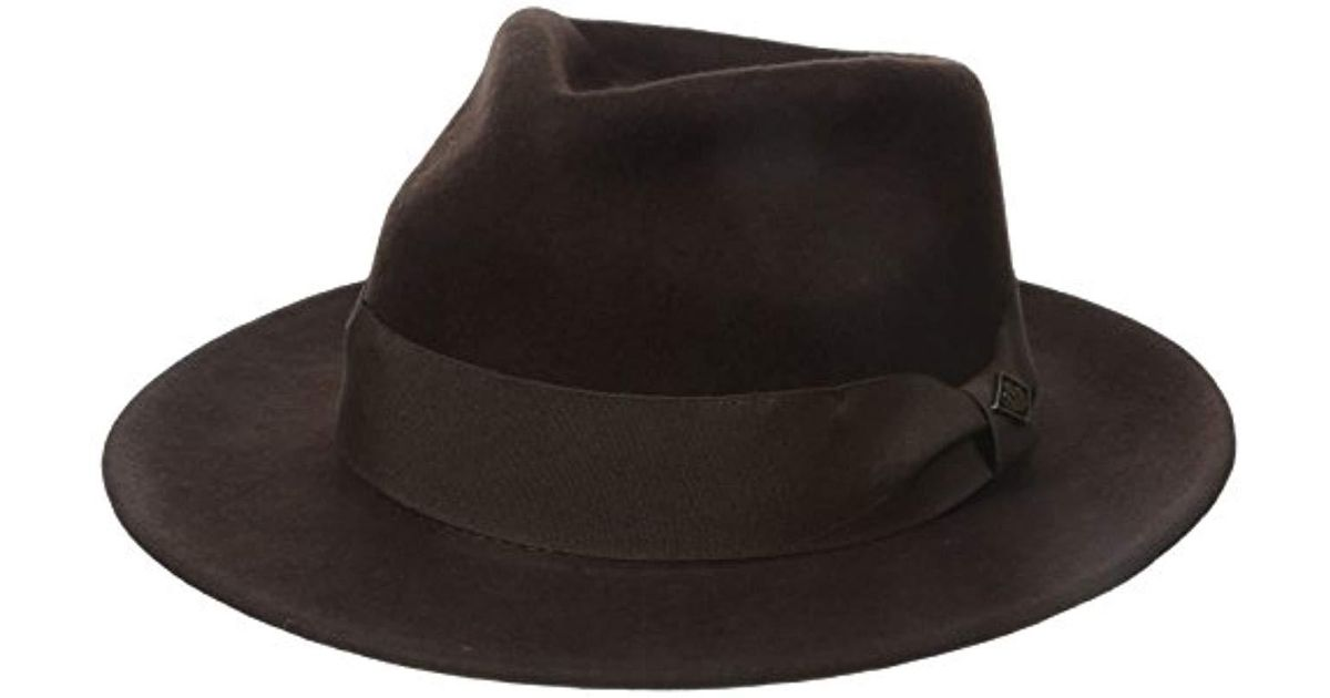 9a7e9f27c Goorin Bros Brown F. Fratelli Fedora for men