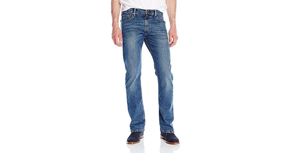 5282236c731 Levi's Blue 527 Stone Rinse Bootcut Jeans - 00527-0470 for men