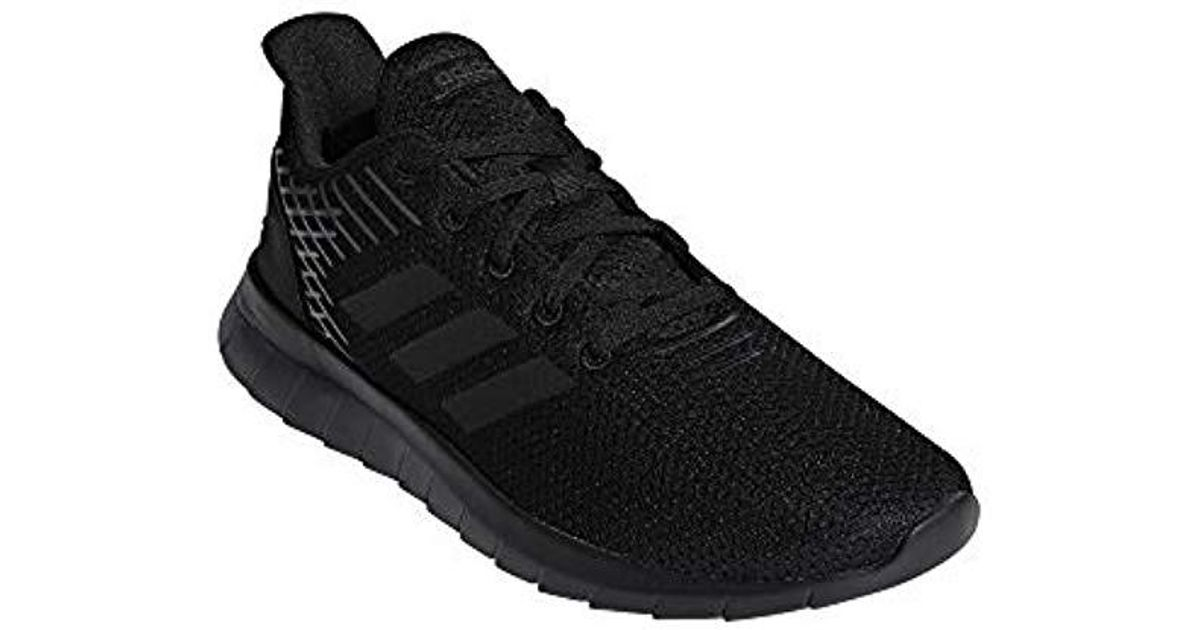 low priced 0f2a9 0f10b adidas Asweerun Fitness Shoes in Black for Men - Lyst