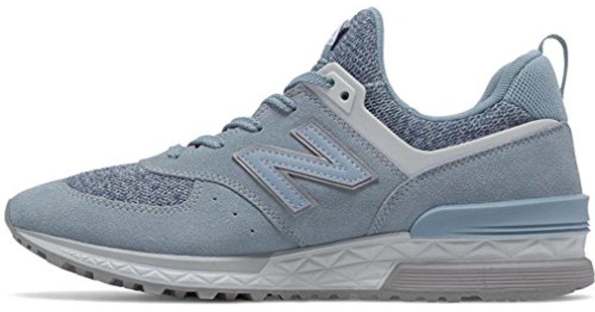 new york c6a9a ec2ee New Balance - Blue 574s Sport Sneaker for Men - Lyst