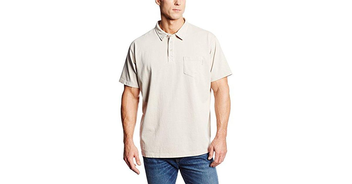 Woolrich Mens First Forks One-Pocket Polo Shirt