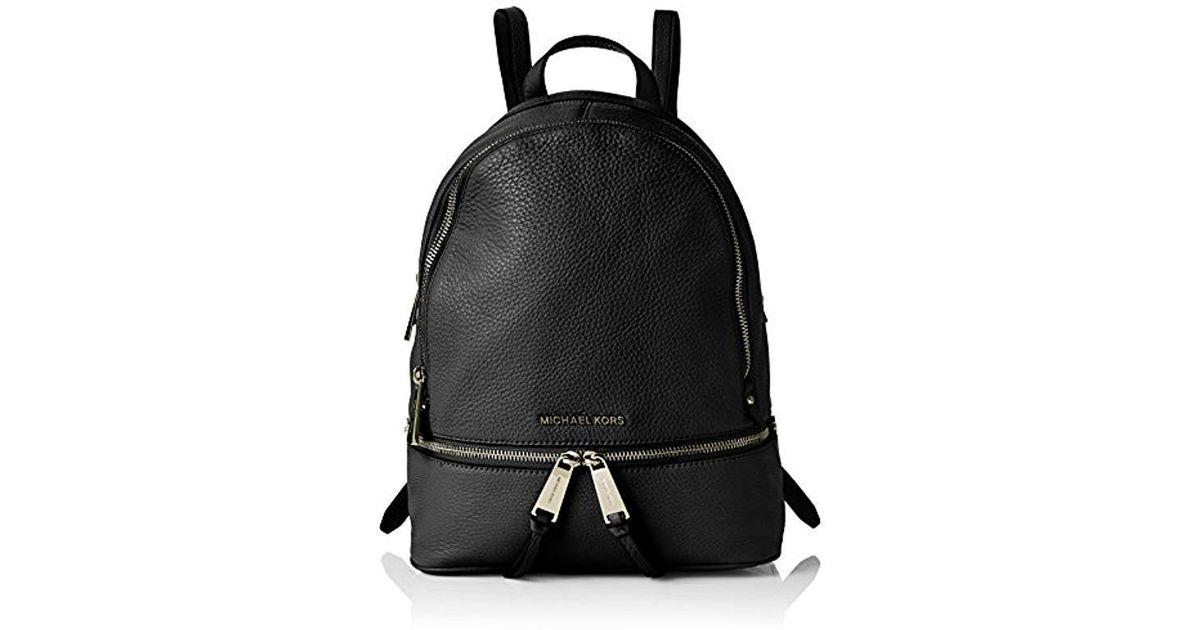 6aae46219e10e7 Michael Kors S Rhea Md Backpack Backpack Handbag in Black - Lyst