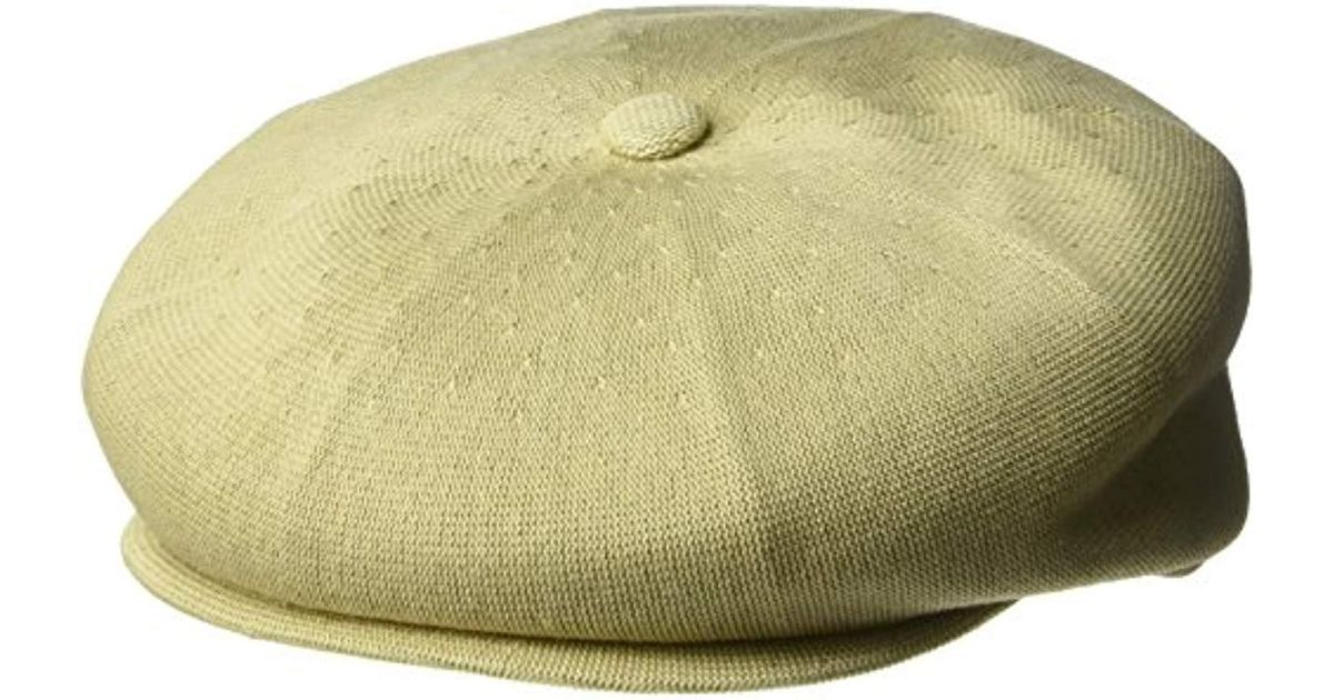 Lyst - Kangol Bamboo Hawker Cap in Natural for Men - Save 39% 16a3bdfb7d2f