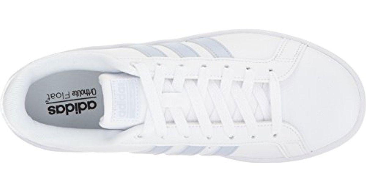 Adidas Blue Neo Cloudfoam Advantage W Fashion Sneaker