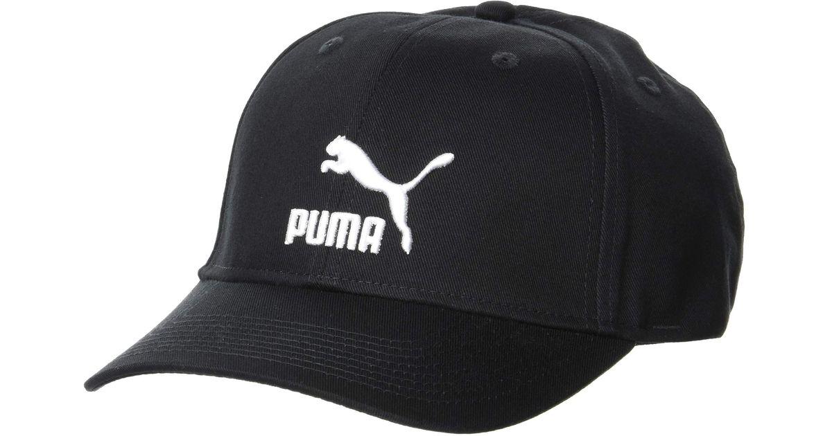 Casquette de Baseball Classics Archive Logo Black Adult PUMA pour ...