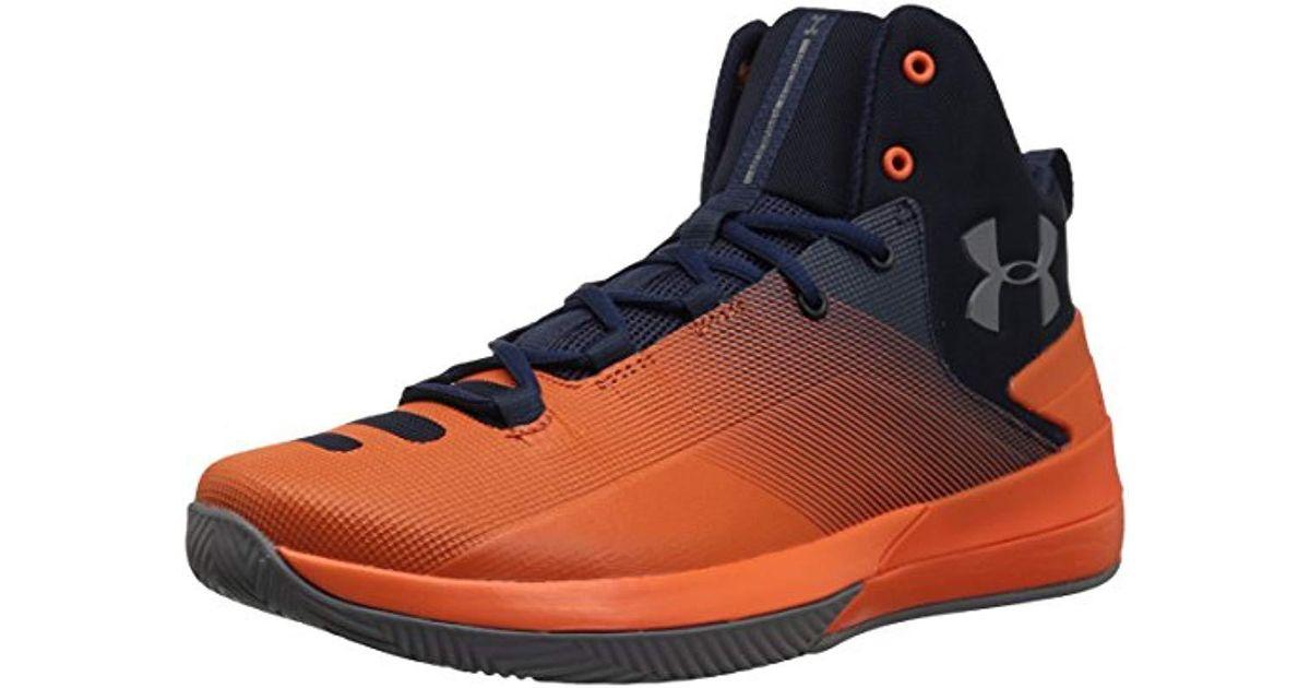 best service 4fe9a 78e26 Under Armour Blue Rocket 3 Basketball Shoe for men